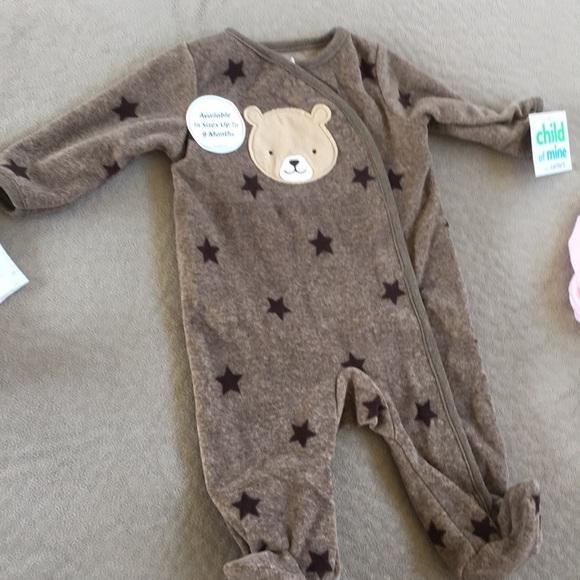 Carter's Other - Teddy bear pajamas